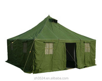 10 persons military style canvas tent for sale
