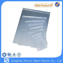 PE Plastic Package bag most durable zipper bag