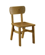 Cheap modern solid wooden furniture dining chair for restaurant using