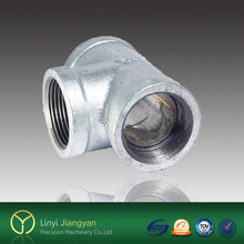 Banded End lost wax cast stainless steel 304/316 pipe fitting Tee