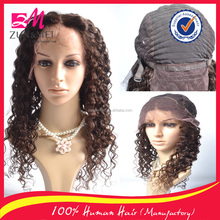 New fashion 100 human hair brazilian hair wig lace front wig african braided wig large stock fast delivery