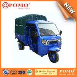 POMO-2015 Hot selling custom Steel Horse SH30.2 semi-closed 150cc three wheel motorcycles/cargo tricycle