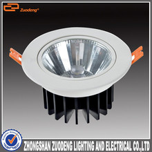 factrory price 4inch cob adjustable dimmable 30w high power led downlight