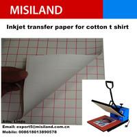 White Color T-shirt Inkjet transfer paper cheap price