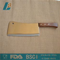 """Stainless steel Kitchen chopping knife with wooden handle 8"""""""