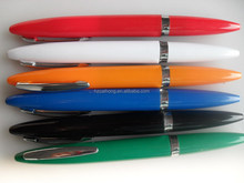 6125 plastic ballpoint pen with metal clip,writing instruments/twist ball pen