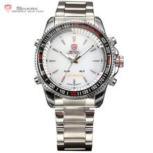 SHARK Men Military Analog LCD Digital Waterproof Vogue Sport Quartz watch