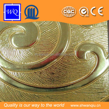 Embossed Faced MDF PVC Board Can be Cutting According to Requirement