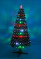 Rotativa exclusiva Prelit Led árvore de natal da controle remoto árvore de fibra óptica