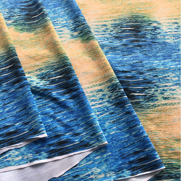 Promozionali vari durevole utilizzando weed tessuto stampato, tessuto a karachi, t-shirt prezzo tessuto