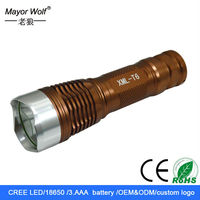china factory mr light led hunting rechargeable torch for camping