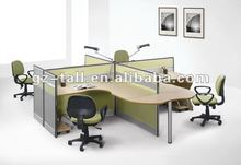 Latest office furniture with 4 seats workstation TL-28-02
