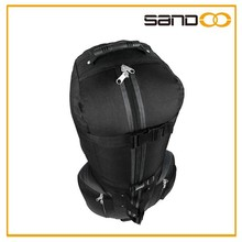 High quality nylon traveling simple golf bag with wheels