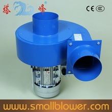 CE 750W potente humo industrial extractor de aire centrífugo