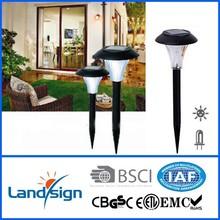 Cixi landsign outdoor garden cheap solar light series solar led lawn lamp for garden cheap solar light