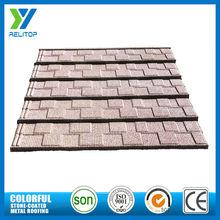 Custom light weight galvanised sand coated metal roofing tiles
