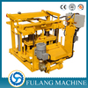 FULANG BRAND QTF40-3A mobile concrete hollow block making machine for sale