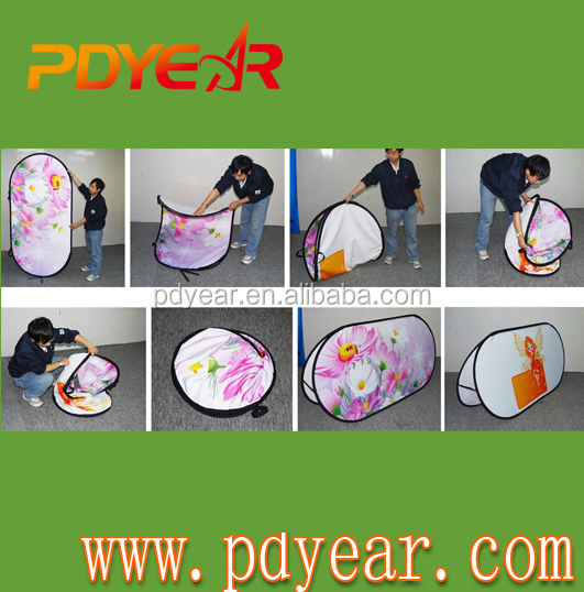 Fabricante un marco pop out banner pop up banner Golf bandera ...