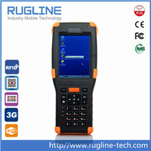 Rugged handheld 3.5 inch color tangible terminal with WIFI