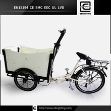 battery operated 8 FUN mid-engine BRI-C01 cargo bicycle electric family