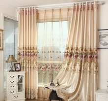 home luxury curtain/hotel cuatain popularity in high quality