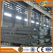 3*22m 80t electronic truck weighbridge mechanical weighing scale
