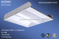 2x2 Recessed LED Troffer Light 2 by 2 36w to replace T8 Fluorescent