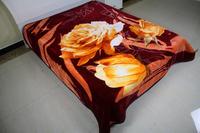 Dubai Wholesale Market Raschel Blanket