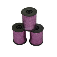 Promotion lurex yarn, embroidery thread,color M type metallic yarn pink