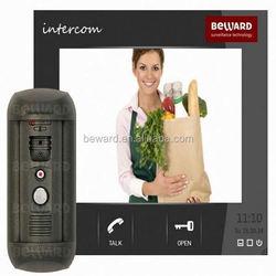 Color Video Door Phone Micro Motion Detector With SIP Procotol