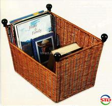 Wicker Wonder File Basket