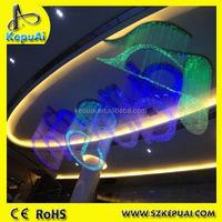 2015 newest style fiber optic sign for ceiling decorations