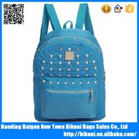Wholesales good sell lady style color backpack for students