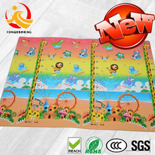 2015 new design fashion printing PVC carpet indoor mat