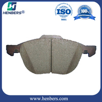 car brake pads for volvo s40 3M51-2K021 auto parts