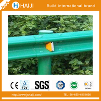 Mountainous road w beam guardrail ,crash barriers of steel for highway