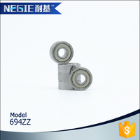 China supplier Cixi Negie factory manufacturer high speed precision cleaning machine ball snap bearing 694 swivel