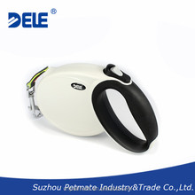 2015 pet accessories new pet products retractable dog leash for dogs up to 30kg provided by Chinese DELE professional supplier