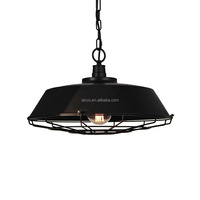 Popular Modern Pendant Lights Industrial Black Antique Pendant Lighting