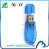 new arrival! free sample transparent usb flash drive 128gb without logo
