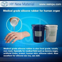 silicone rubber for molds/Artificial limb