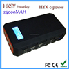Hot Sale Rechargeable Car Battery Charge Laptop Jump Starter With Air Compressor
