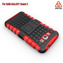 For Samsung Galaxy Grand 3 mobile accessories, TPU +PC Armor Mobile Phone Back Case Cover 2 in 1