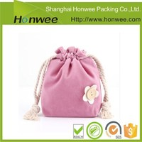 wholesale alibaba talking jewelry fabric velvet gift bag