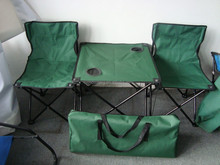 Discount foldable table and chair set