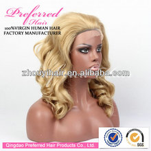 Premium 14'' soft curl synthetic wig with wholesale price accept Escrow payment