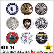 Manufacturer Custom Made Die Struck Iron Golf Ball Marker