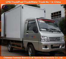 Foton Mini Refrigerated Van truck with cold room Foton Refrigerator used cold truck 4*2 Foton 3-5ton used cold truck