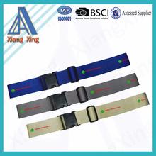 5cm Adjustable designer personalized luggage fasten belt
