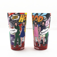 PP Food grade cup CUSTOM LOGO, OEM factory advertising plastic cups in bulk